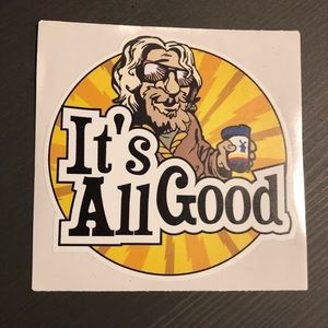 Dutch Bros - Sticker Decal - It's all Good